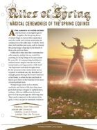EN5ider #66 - Rites of Spring: Magical Ceremonies of the Spring Equinox