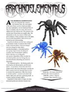 EN5ider #68 - Arachnoelementals