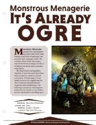 EN5ider #71 - Monstrous Menagerie: It's Already Ogre