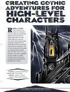 EN5ider #78 - Creating Gothic Adventures for High-Level Characters