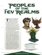 EN5ider #90 - Peoples of the Fey Realms
