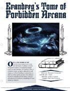 EN5ider #108 - Erandreg's Tome of Forbidden Arcana