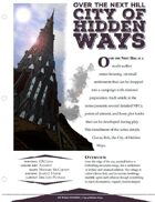 EN5ider #112 - Over the Next Hill: City of Hidden Ways