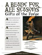 EN5ider #113 - A Blade for All Seasons: Gifts of the Forge