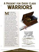 EN5ider #117 - A Present for Every Class: Warriors