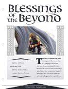 EN5ider #120 - Blessings of the Beyond