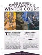 EN5ider #122 - Servants of the Winter Court