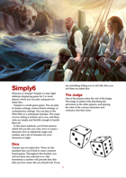 Simply6: A Fast Universal RPG