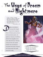 EN5ider #131 - The Ways of Dream and Nightmare