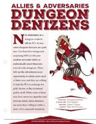 EN5ider #151 - Allies & Adversaries: Dungeon Denizens