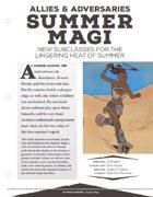 EN5ider #168 - Allies & Adversaries: Summer Magi