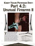 EN5ider #173 - Keep Your Powder Dry 4.2: Unusual Firearms II