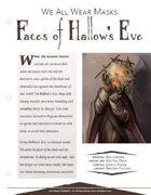 EN5ider #174 - We All Wear Masks: Faces of Hallow's Eve