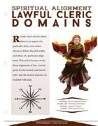 EN5ider #178 - Spiritual Alignment: Lawful Cleric Domains
