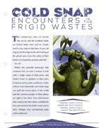EN5ider #190 - Cold Snap: Encounters in the Frigid Wastes