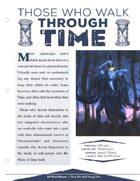 EN5ider #196 - Those Who Walk Through Time
