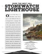 EN5ider #197 - Over the Next Hill: Stonewatch Lighthouse