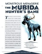 EN5ider #206 - Monstrous Menagerie: Mudiba (The Hunter's Bane)
