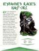EN5ider #236 - Expanded Races: Half-Orc
