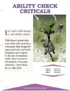 EN5ider #242 - Ability Check Criticals
