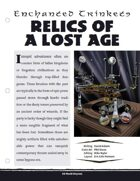 EN5ider #261 - Enchanted Trinkets: Relics of a Lost Age