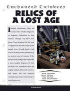 EN5ider #261 - Enchanted Trinkets: Relics of a Lost Age
