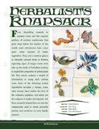 EN5ider #266 - Herbalist's Knapsack