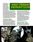 Judge Dredd Case File #5: Red Dredd Redemption