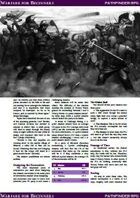 Warfare for Beginners (Pathfinder RPG)