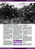 Warfare for Beginners (Pathfinder RPG)