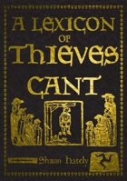 A Lexicon of Thieves Cant