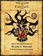 Realms Of Fantasy RPG Sourcebook I: Wizards & Warriors