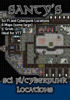 Near Future & Cyberpunk Map Set
