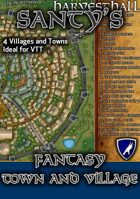 Santy's Fantasy Map Pack - Villages and Towns