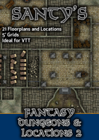 Santy's Fantasy Map Pack - Dungeons and Locations 2