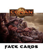 Conan: Rise of Monsters Fate Cards