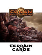 Conan: Rise of Monsters Terrain Cards