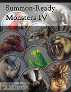 Summon-Ready Monsters IV