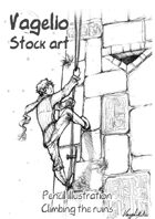 Pencil Works: Climbing the Ruins