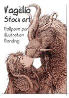 Character stock sketch series: Bonding