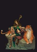 Vagelio Kaliva - Stock character Illustration -  Family