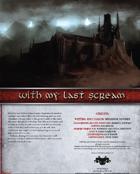 With My Last Scream (Master)