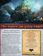The Knife in Your Hand (Novice)