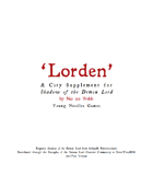 The City of Lorden Gazetteer