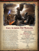 Call to Arms: The Warlord