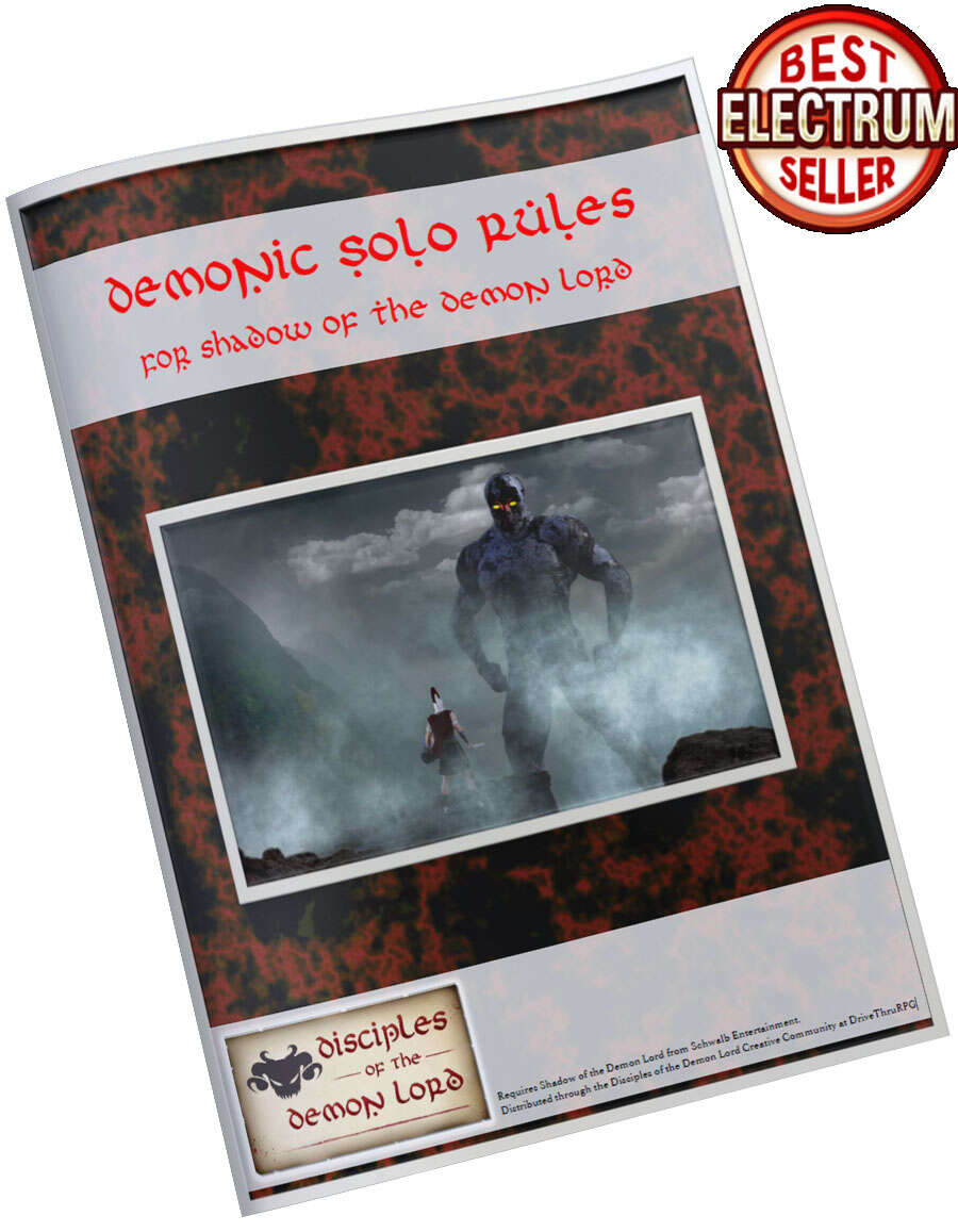 Demonic Solo Rules for Shadow of the Demon Lord