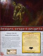 Desires, Fears & Secrets