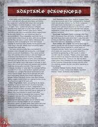 Adaptable Scavengers,  Ratkin Ancestry