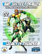 And Justice for All! v02 - Legacy of Thunder