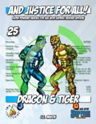 And Justice for All! v25 - Dragon & Tiger